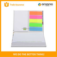 Cheap custom sticky memo pad advertisement with custom logo