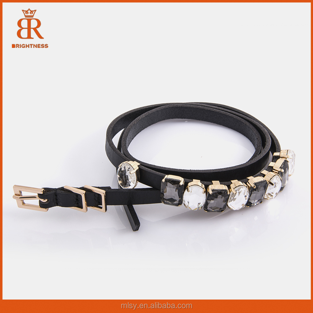 2015 fashion rhinestone genuine leather <strong>belt</strong> for women slim women leather <strong>belt</strong> new trend <strong>belts</strong>
