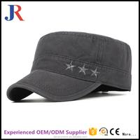 JR jiangrun 2017 ear flaps flat brim cap flat brim hat