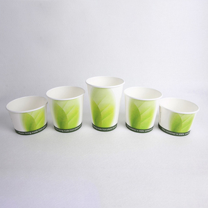 12oz soup paper bowl wholesale hot soup noodle paper cup with lid