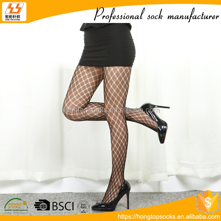 HT-A-1155 black women tights