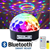APP Control Bluetooth Effect Lighting Club Stage RGB Color Change Crystal Magic Rotating Ball Speaker Light  Magic Ball lighting