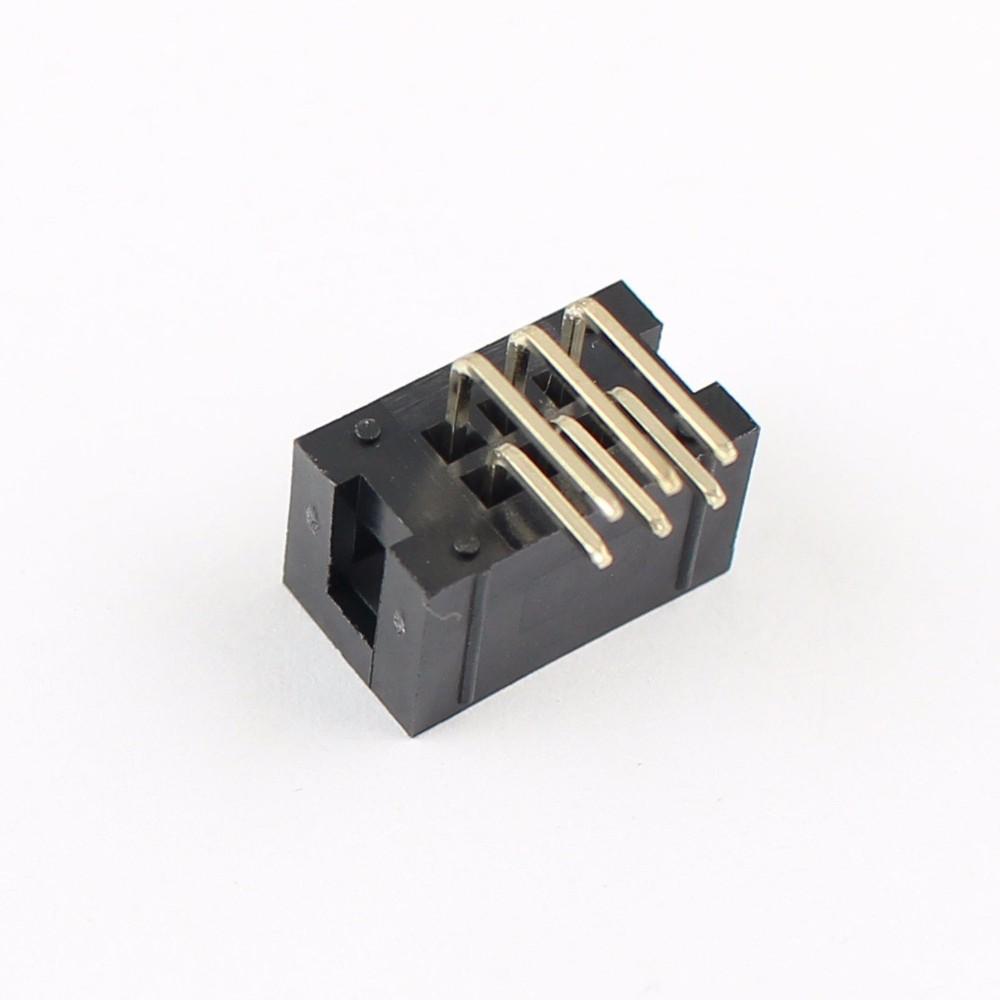 China Manufacturer Box Header Connector Terminal 6 Pin