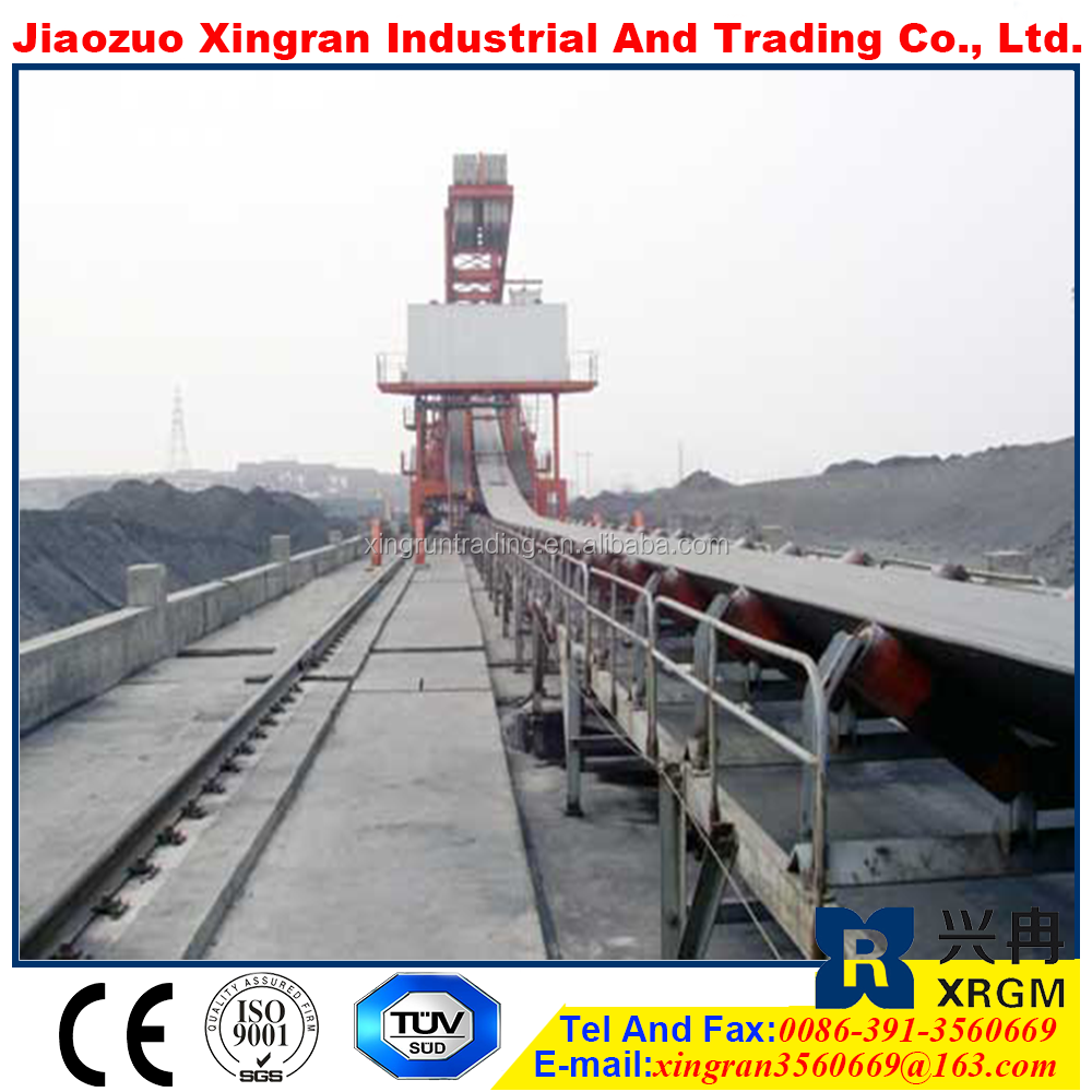shiftable conveyor machine for coal low temperature resistant rubber conveyor belt tripper conveyor systems