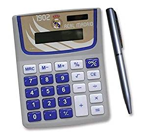 Real Madrid Calculator & Pen Set