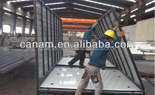 Prefab security container moveable tool booth