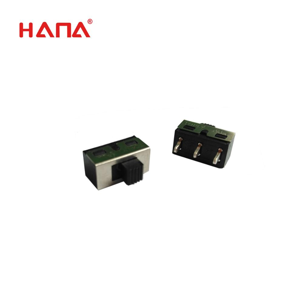 HANA 3 pins T85  ETL TUV certification mini 2 way slide switch