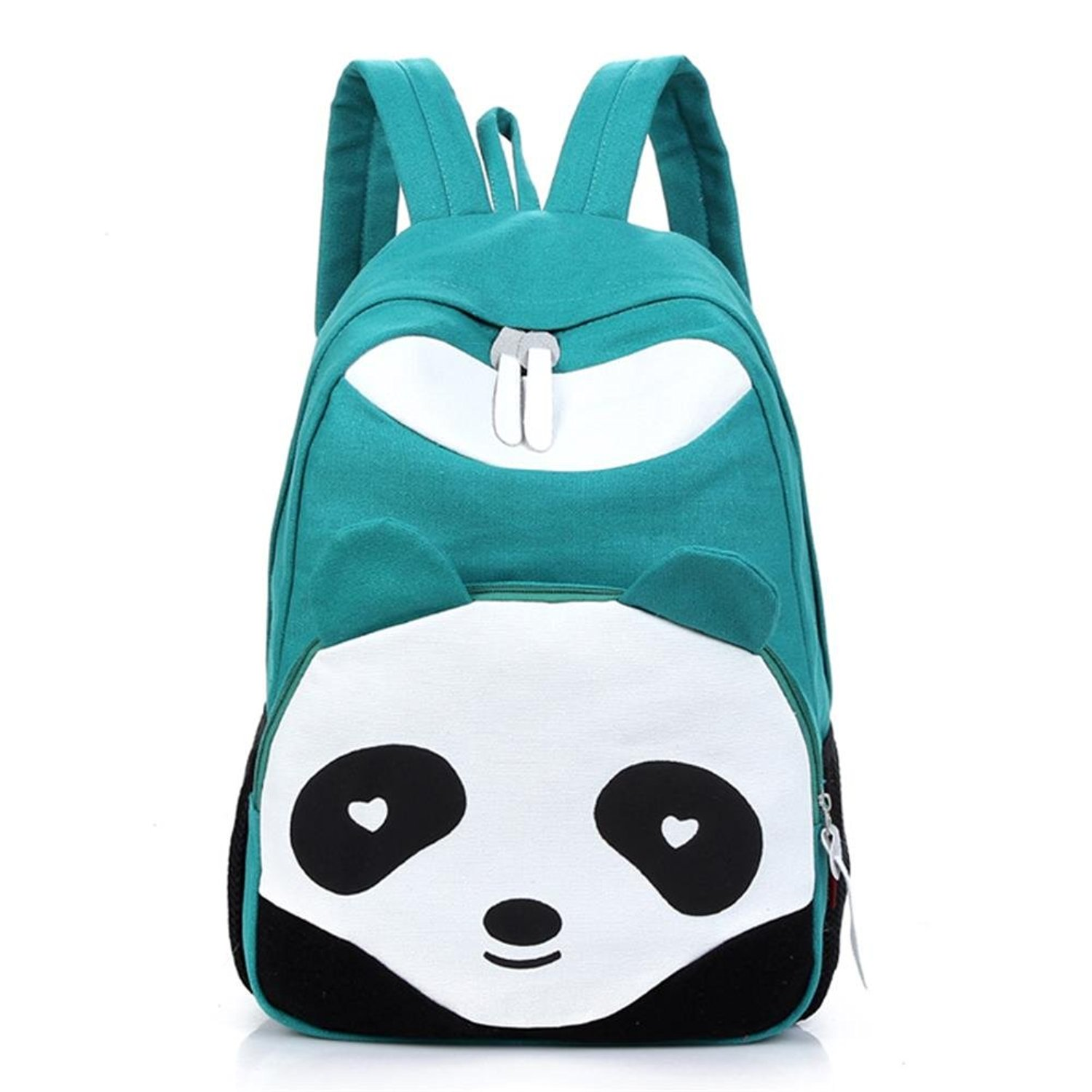 ec270795b0 Get Quotations · Cute Panda Unisex Canvas Backpack School Bag College  Laptop Bags Rucksack for Teens Girls Boys Students