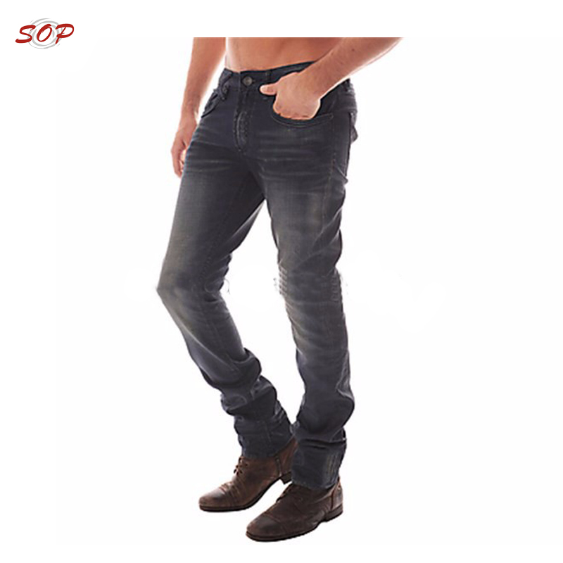 New fashion high quality pant fancy men jeans trousers