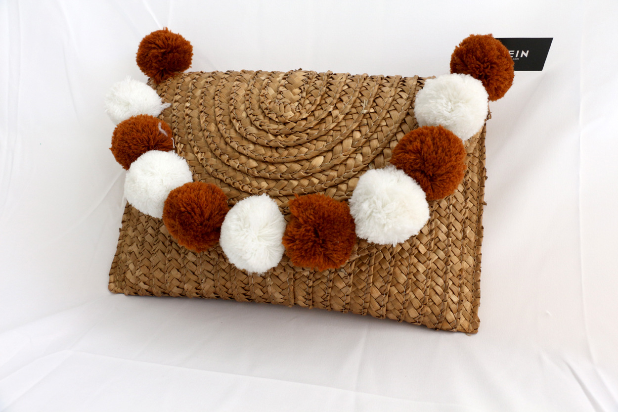 beautiful straw clutch bag crochet for sale for ladies-1