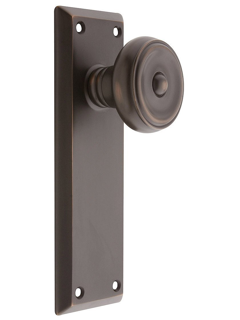 Get Quotations · Quincy Door Set With Waverly Knobs Passage In Oil Rubbed  Bronze. Interior Door Knobs.