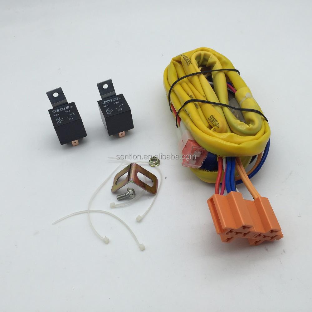Premium Heavy Duty H49005 Headlight Harness And Relay Car. Premium Heavy Duty H49005 Headlight Harness And Relay Car Wiring Kit Universal. Wiring. H4 Headlight Relay Wiring Harness At Scoala.co