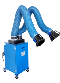 welding fume extractor with two suction arms - Welding Fume Extractor