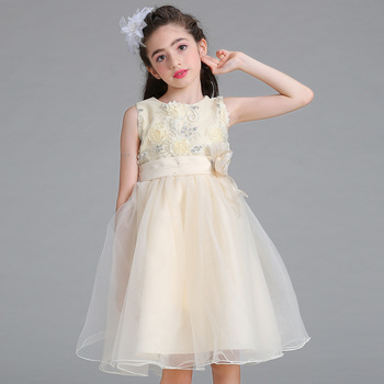 2ba004374bde Latest Baby Girls Casual Party Dresses For 8 Year Old 2017 - Buy ...