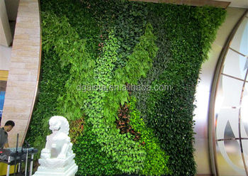 Fake Grass Wall China Factory House Use Artificial Living Wall