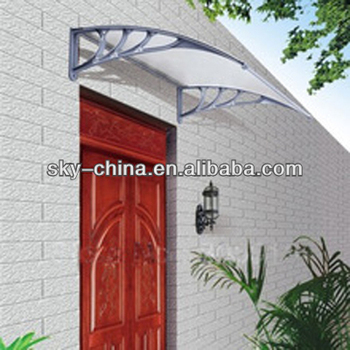Diy High Quality Steel Frame Fibreglass Door Canopy For Balcony - Buy  Fibreglass Canopy,Front Canopy,Aluminum Outdoor Canopy Product on  Alibaba com