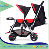 China whole sale double seat baby stroller / price twin Baby Stroller for kids / double seat children stroller with sunshade