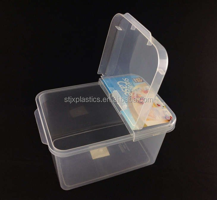 Captivating Thick Transparent Plastic Container With Flip Top Lid