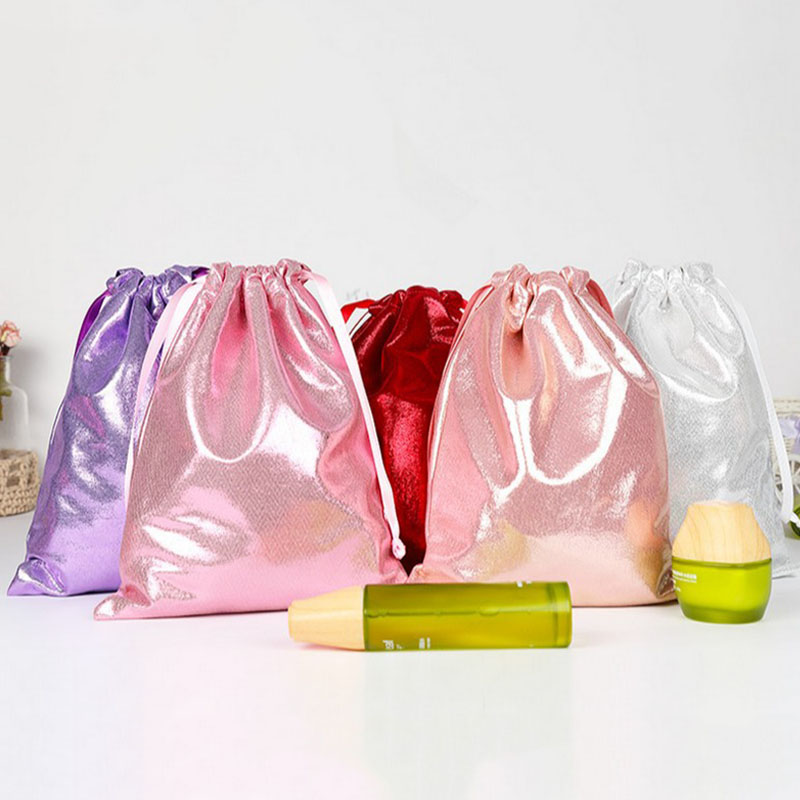 Cosmetic Travel Pouch Makeup Bag Portable Wash Bag Drawstring Bulk Storage cosmetic Toiletries Bag
