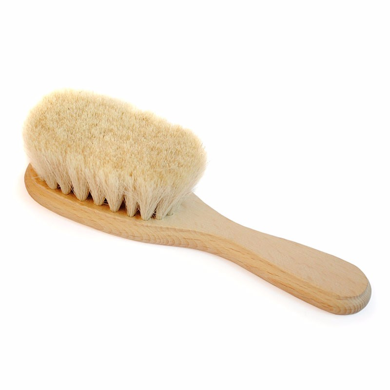 Wholesale wooden baby hair brush