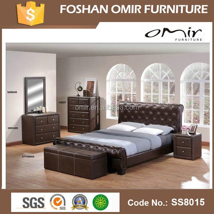 بو سرير ss8015 اشلي أثاث غرفة نوم مجموعات الأسرة معرف المنتج
