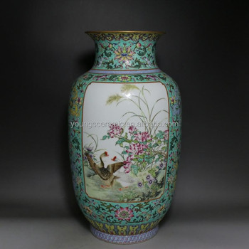 Chinese High Antique Reproduction Qing Dynasty Ceramic Porcelain