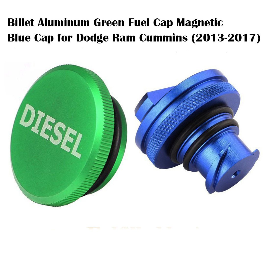 Cheap Dodge Ram Cap Find Deals On Line At Alibabacom 2013 5500 Fuel Filter Location Get Quotations 2017 Diesel Magnetic Billet Aluminum And Blue Combo