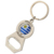 Personalized Custom Metal Epoxy Car Keychain Bottle Opener