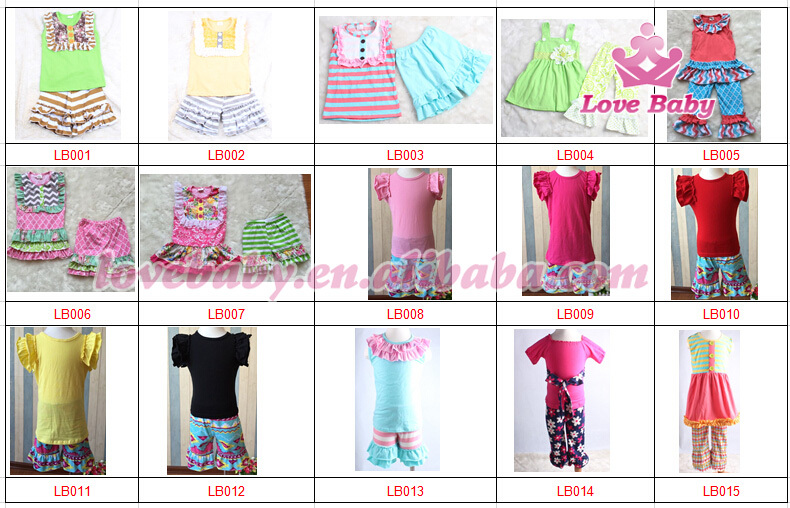 Oem Kids Clothes Factory Boutique Ruffle Cheapest Price Online ...