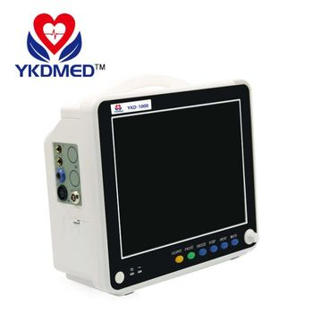 High quality Multi-lead ECG waveforms display cheap patient monitor