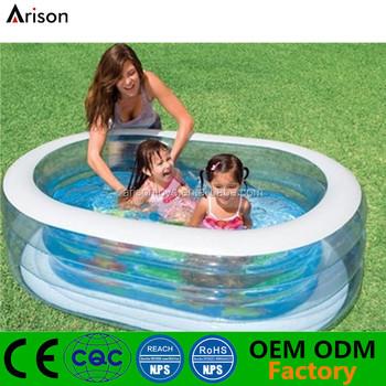 aufblasbare ovale tragbare schwimmen pool faltbare innenau enpool f r kinder buy product on. Black Bedroom Furniture Sets. Home Design Ideas