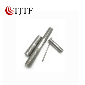 Grade 8.8 10.9 12.9 high tensile double end threaded stud bolts and nuts