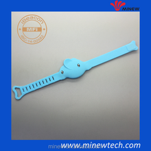 Customized OEM/ODM children anti lost wristband ibeacon