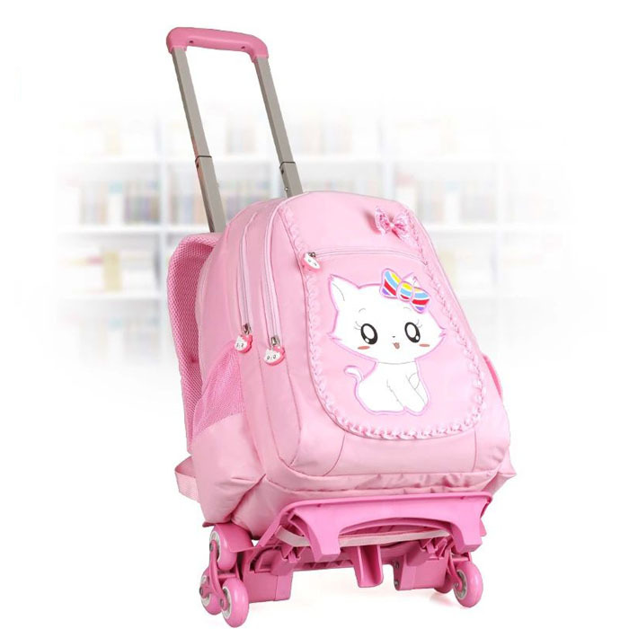 08c786c771 Buy 2015 High-grade School Bags For Girls Backpack With Flashing Wheels Removable  Trolley Luggage Child Suitcase Kids School Bag in Cheap Price on Alibaba.  ...