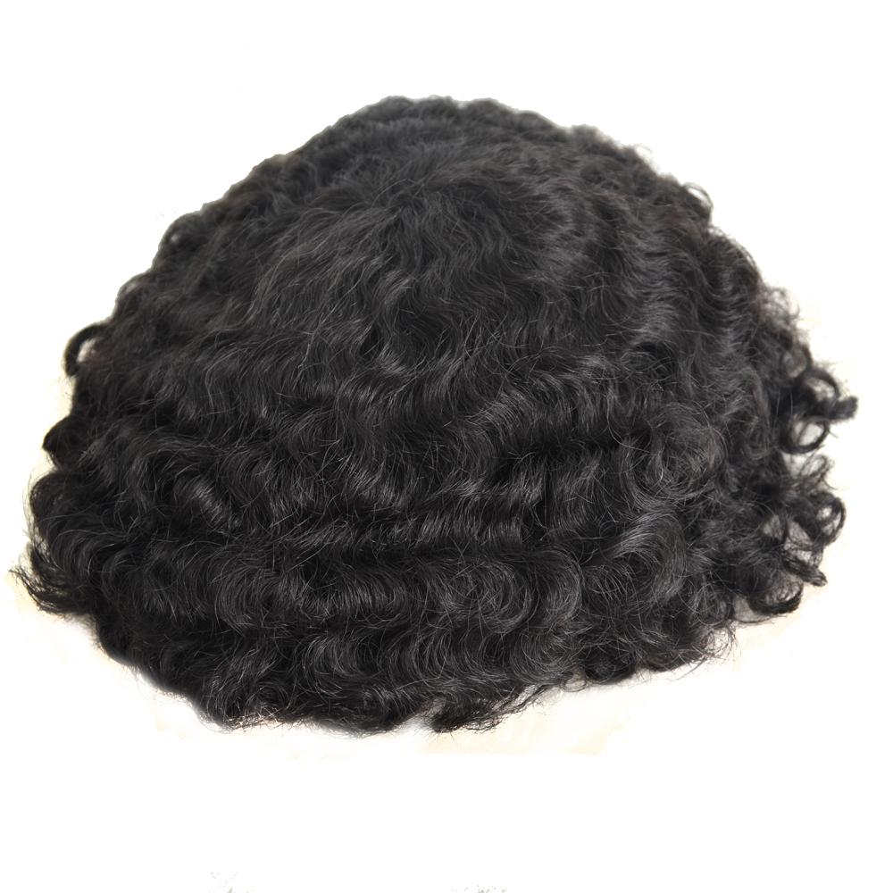 Vendita top 15mm onda parrucca riccia