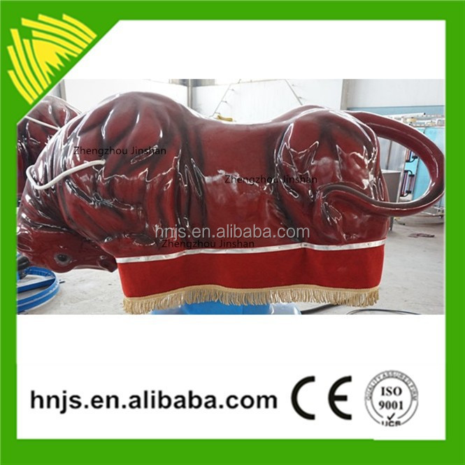 Amusement rides mechanical rodeo bull with inflatable cushion mechanical bull for adult