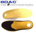 latex orthotic latex and leather posture control leather insoles for shoes