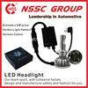 Waterproof IP67 H4 High low high power led headlight bulb h7 For Car