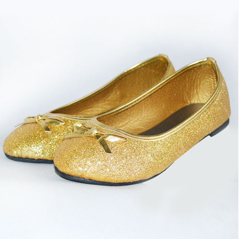 Free shipping BOTH ways on girls gold ballet flats, from our vast selection of styles. Fast delivery, and 24/7/ real-person service with a smile. Click or call