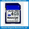Camera card Memory sd 4GB card for Digital Camera wholesale price