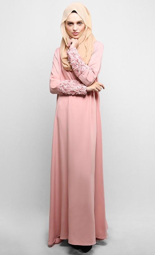 2016 Wholesale Chiffon Arab Clothing Beading Muslim Dress Fashion ...