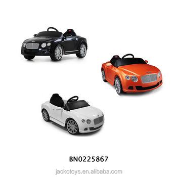 Le De Gtc L'autorisation Sur Enfants Rohs Monter voiture Ride Voiture Voiture Bentley Buy Électrique Jouet K3FcTlJ1