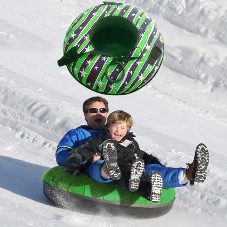 PVC plastic inflatable round snow tube,inflatable snow sledge