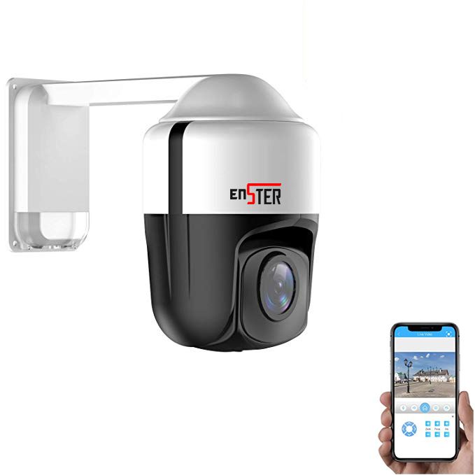 Definisi Tinggi 265 POE 1080 P 5MP Ip Kamera 5 Megapiksel Mini Speed Dome PTZ Pan Tilt Dome CCTV