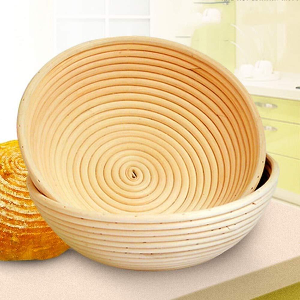 Rattan Basket Wicker Basket New 116cm Indonesian Rattan Basket Dough Banneton Brotform Bread Proofing Proving Fermentation Country Storage Baskets