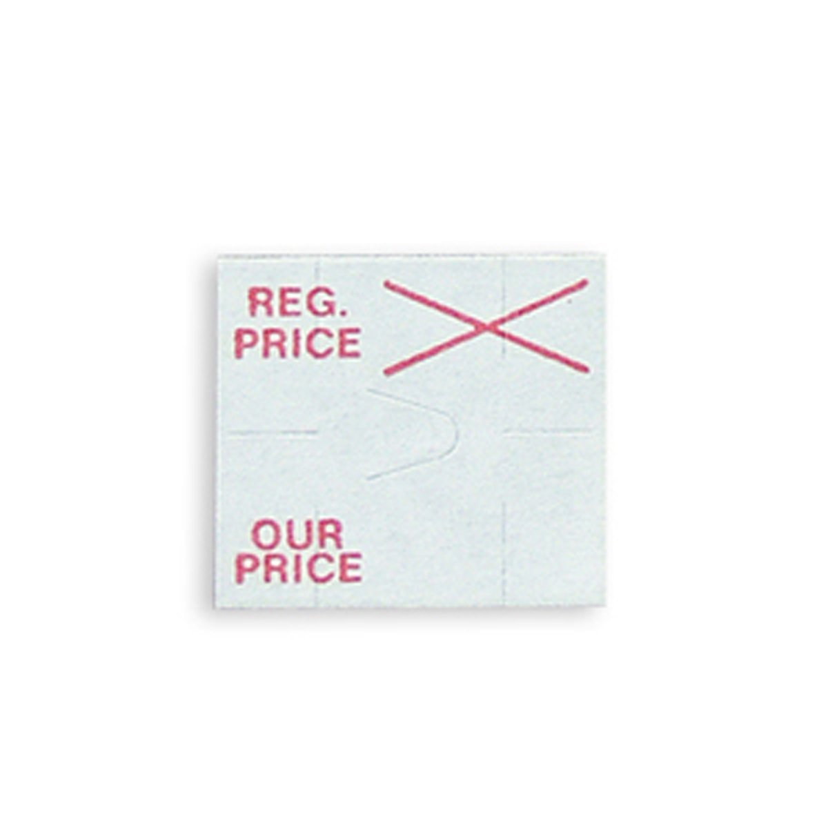 Labels for Dennison 216 Label Gun Regular Price/Our Price Label Retail Store Fixture New