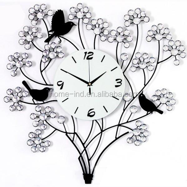 Metal Clock Wall Iron Bird Pendulum Clock Design Iron Bird Clock - Buy  Singing Bird Clock,Pendulum Clock,Singing Bird Clock Product on Alibaba com