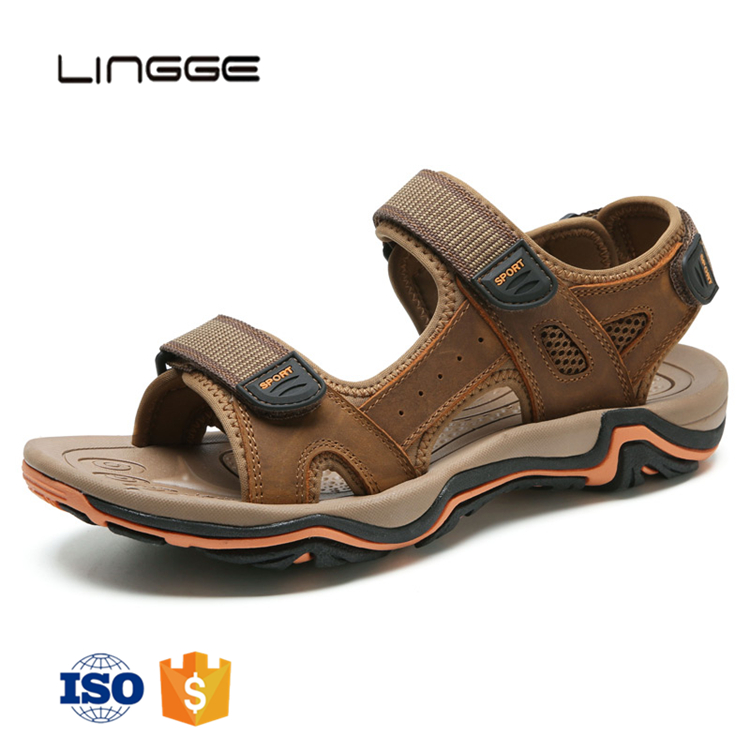 Fashion flat summer eva cheap wholesale leather mens <strong>sandals</strong>