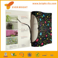 High quality note book,stretchable silicone book cover