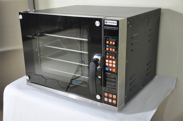 K1484 Countertop Mini Bakery Equipment Machine Electric Convection Oven 220V